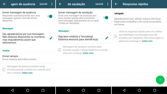 WhatsApp Business Mensagens