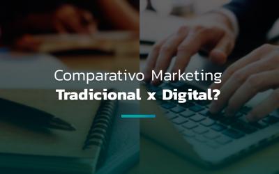 Diferenças entre marketing digital e marketing tradicional