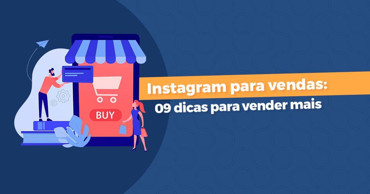 instagram para vendas