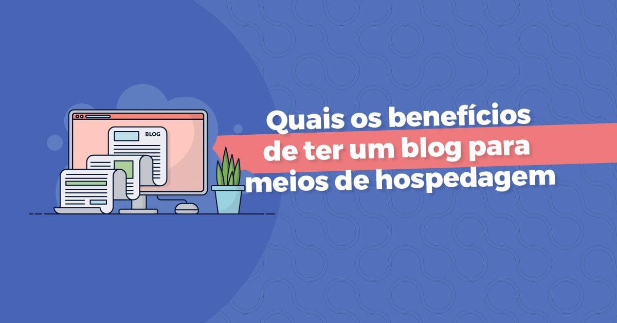 blog para meios de hospedagem